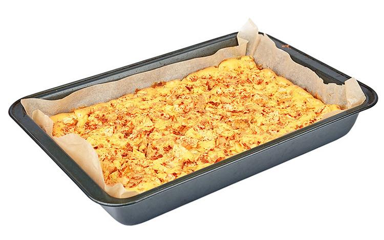 Apfelkuchen Auf Dem Blech Mit Streusel Rezept Mit Lecker Streuseln